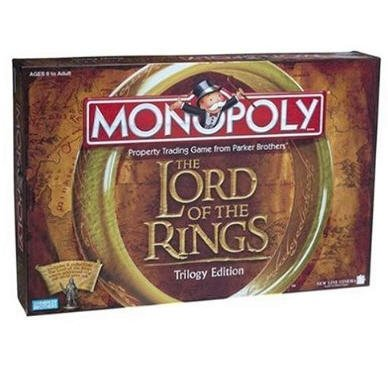 Monopoly - The Lord of the Rings Trilogy Edition New