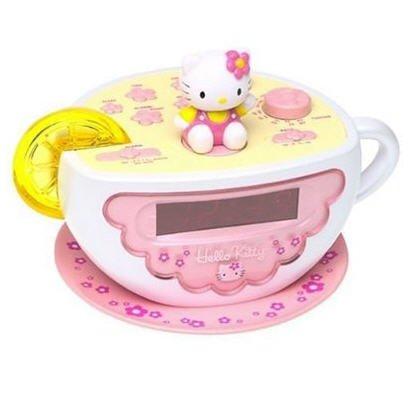 Hello Kitty Clock Radio with Night Light - KT2055