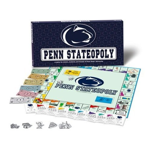 Late for the Sky Penn Stateopoly Monopoly Game Factory Sealed