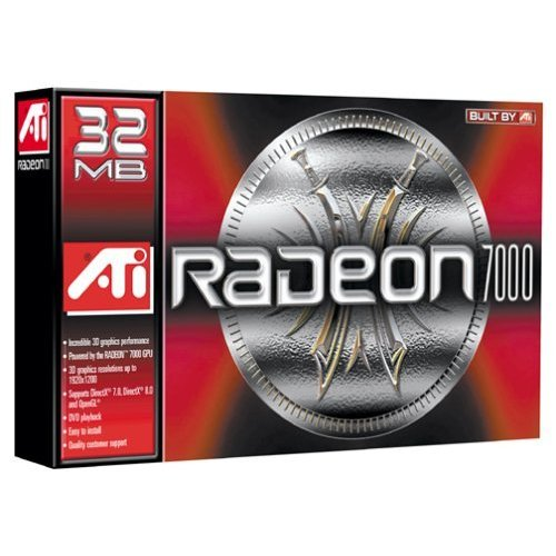 ATI Technologies Radeon 7000 Graphics Card 32MB