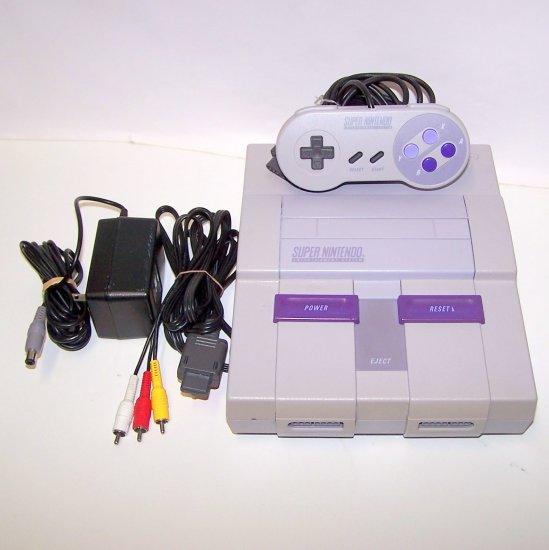 Super Nintendo Game console System SNES bellarain.ecrater.com