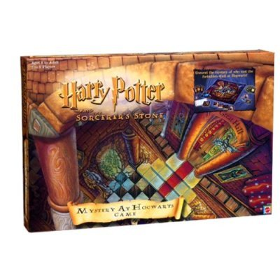 Mattel 2000 HARRY POTTER & The Sorcerer's Stone MYSTERY AT HOGWARTS 1st Game