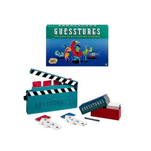Guesstures Game The game of split-second Charades