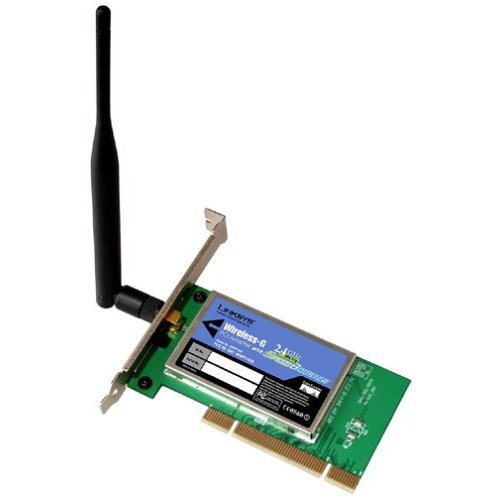 Linksys WMP54GS Wireless-G PCI Card with SpeedBooster