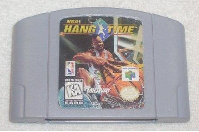 NBA Hang Time N64 Nintendo 64 Game Cartridge