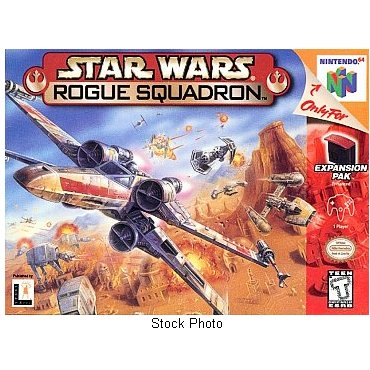 Star Wars Rogue Squadron N64 Nintendo 64 Game Cartridge