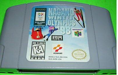Nagano Winter Olympics 98 N64 Nintendo 64 Game Cartridge