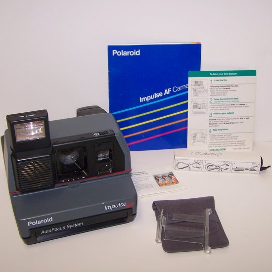 Polaroid Impulse AF Auto Focus 600 Instant Camera one step