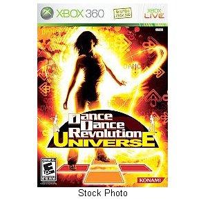 Dance Dance Revolution Universe Xbox 360 Konami rated E