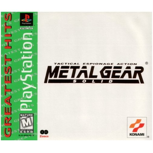 Metal Gear Solid (Playstation) PS1 PS2
