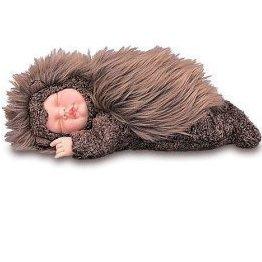 "Anne Geddes Baby Hedgehog Doll - 8"" by Unimax Toy"