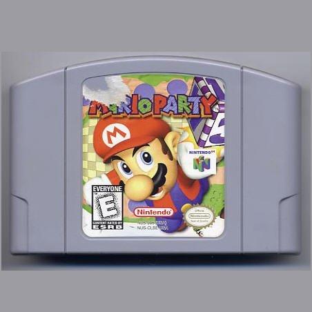 Mario Party N64 Nintendo 64 Game Cartridge