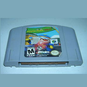 south park rally  N64 Nintendo 64 Game Cartridge
