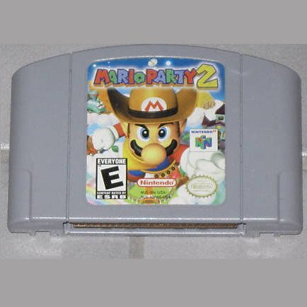 Mario Party 2 N64 Nintendo 64 Game Cartridge