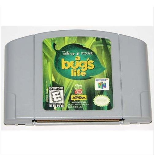 a Bug's Life  N64 Nintendo 64 Game Cartridge
