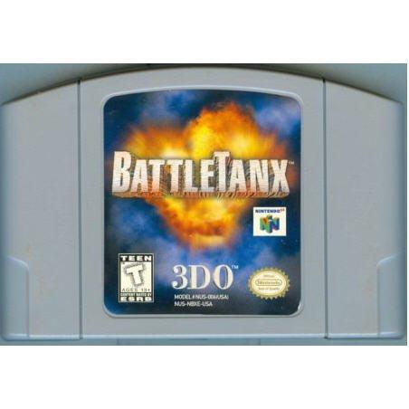 BattleTanx 3DO N64 Nintendo 64 Game Cartridge