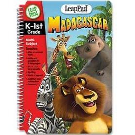 LeapFrog LeapPad Educational Book: Madagascar