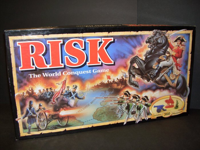 RISK World Conquest Game Parker Bros 1993