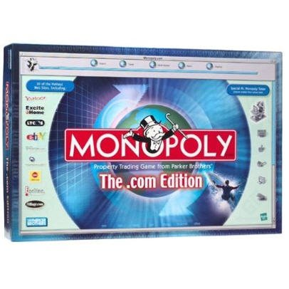 Monopoly the.com Edition by Hasbro