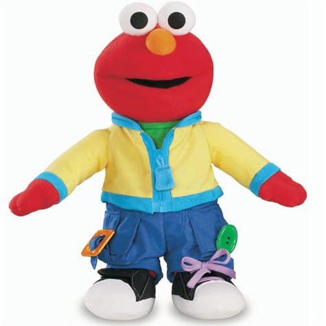 Fisher-Price® Sesame Street Learn To Dress Talking Elmo