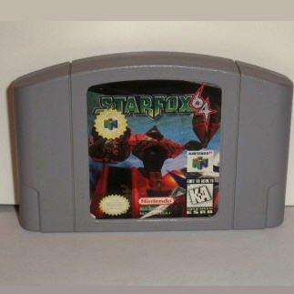Starfox 64 N64 Nintendo 64 Game Cartridge