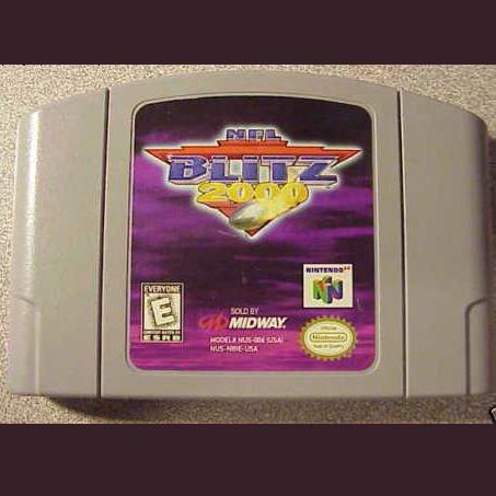 NFL Blitz 2000 N64 Nintendo 64 Game Cartridge