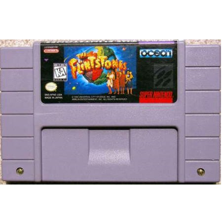 The Flintstones  Super Nintendo Game by Ocean