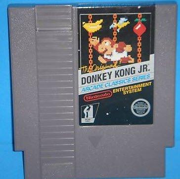 Donkey Kong Jr ~ Original 8-bit Nintendo NES Game Cartridge