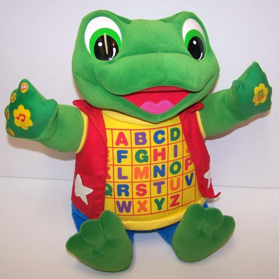 Little LeapFrog Read & Sing Baby Tad Alphabet Toy!