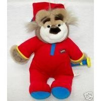 BEDTIME BUBBA WITH FLASHLIGHT talking plush bear