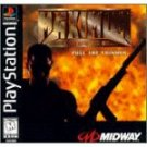 Maximum Force Pull The Trigger by Midway Entertainment  Black Label (Playstation) PS1 PS2