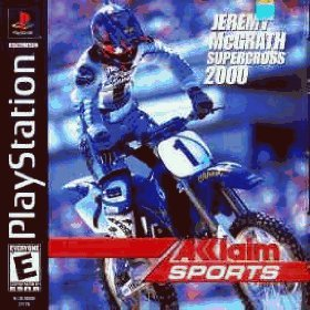 Jeremy McGrath Supercross 2000 by Acclaim Entertainment Inc. Black