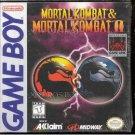 Mortal Kombat & Mortal Kombat II by Akklaim  Nintendo Game boy