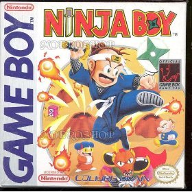 Ninja Boy ~ Nintendo GAME BOY GB GBC GBA SP RARE