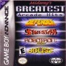 Midway's Greatest Arcade Hits Defender, Joust, Sinistar, Robotron 2084 Nintendo Game boy Advance