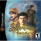 Shenmue Sega Dreamcast game Passport edition 4 Disc Set