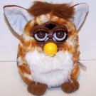 Furby Electronic Tan with White Stripes, Brown Feet, White Belly and Inner Ears