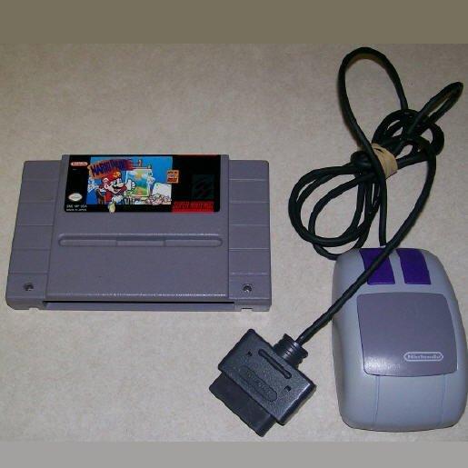 Mario Paint  Super Nintendo Game
