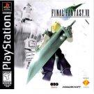 Final Fantasy VII   by Squaresoft playstation game