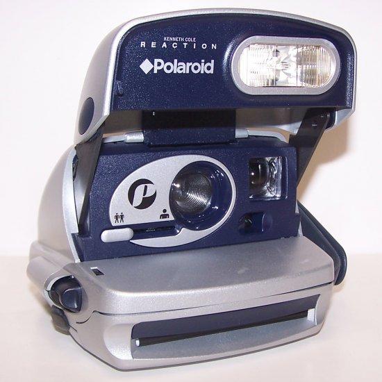 Polaroid p600 instant camera Silver