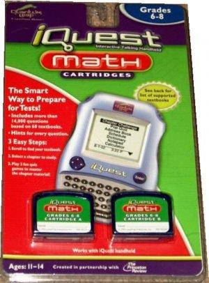 iQuest Math Cartridges Grades 6-8 by Quantum Leap