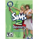 The Sims 2 University Expansion PC  (PC Games)