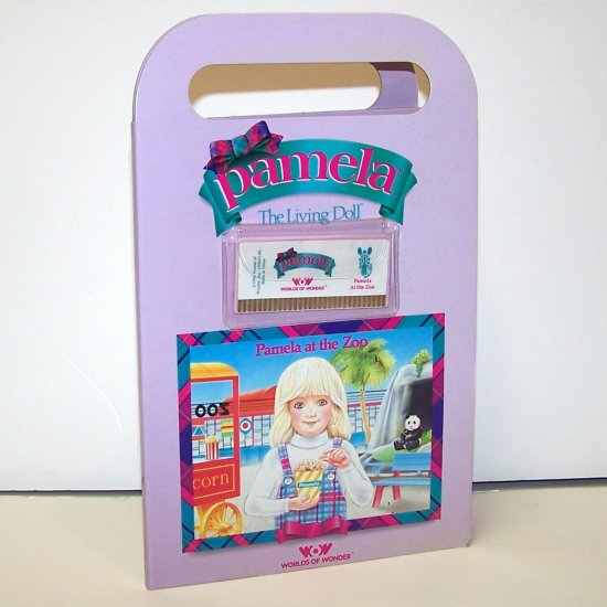Vintage Pamela at the Zoo (Pamela the Living Doll) Worlds of Wonder 1986