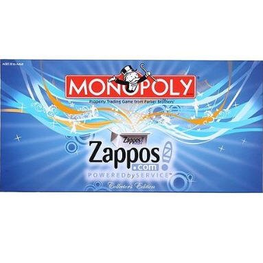 MONOPOLY Zappos.com Collectors Edition by Parker Brothers / USAopoly