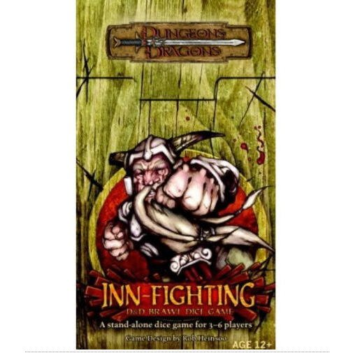 Dungeons And Dragons Inn Fighting D Amp D Dice Game By Wizards
