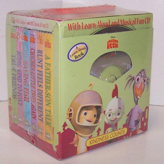 Disney's Chicken Little: Kindness Counts (6 Board Books & CD Box Set) (Board book)