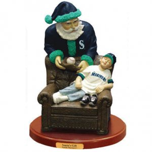 MLB Seattle Mariners Santa's Gift by the memory company