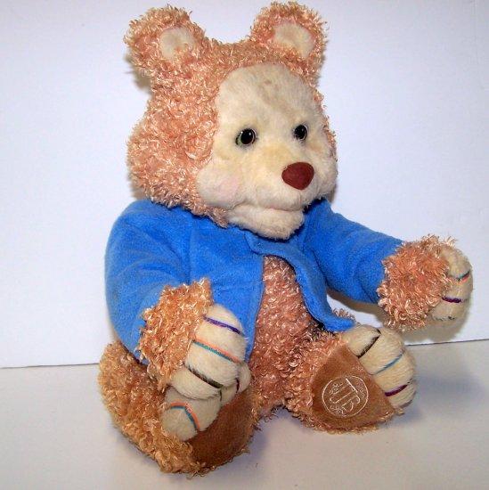 TJ Bearytales Animated Plush Bear plus 1 story