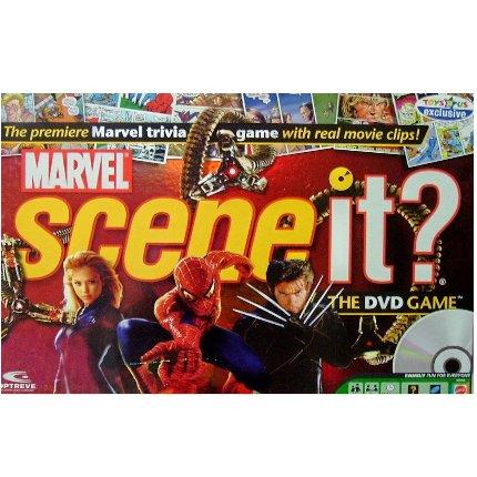 SCENE IT? Marvel Edition DVD game