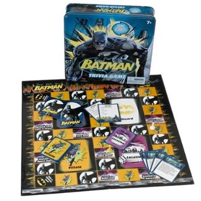 Batman Trivia Game in Tin 2005